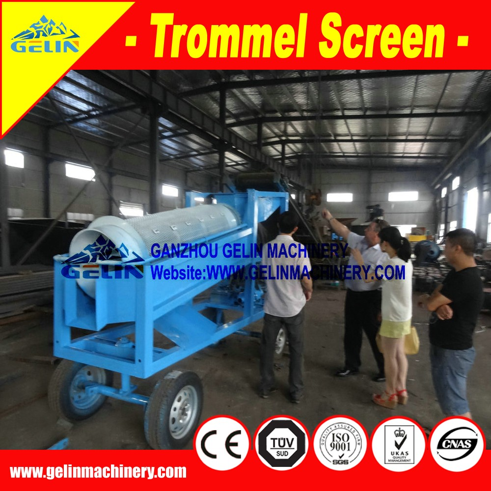 diesel engine trommel screen / Solid Waste Separation Machine