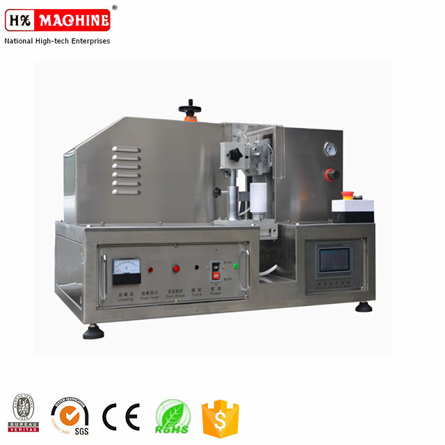 Tube sealer for plastic/aluminum cosmetic/pharmaceutical tubes With USA style Ultrasonic system
