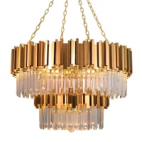 Wholesale decoration chandelier modern crystal ceiling light/chandeliers/chanderlier LED lamp