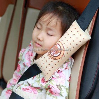 Adult Adjust Vehicle seat belt pad seat belt pillow for neck and shoulder