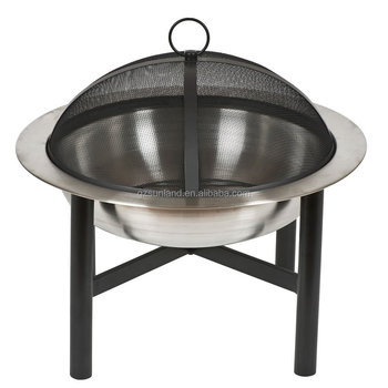 26 Inches Stainless Steel Outdoor Fire Pit And Log Burner Product On Alibaba
