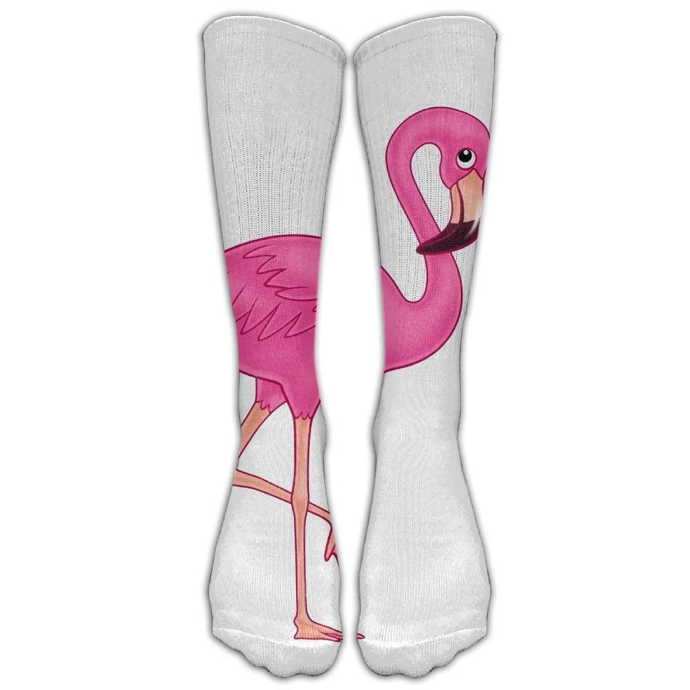 1acb81d8acc Get Quotations · Ghgbm 3D Pink Flamingo.png Stockings Hip-hop Fashion  Women s Stockings Tube Skatebo Ard