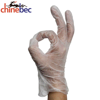 4.3g disposable vinyl gloves for FDA approval
