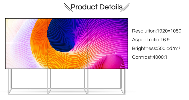 video wall latest 42-60inch professional ultra narrow bezel with samsung lcd samsung video wall