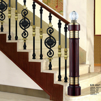 Decorative Glass Aluminum Railing Balusters For Stairs