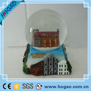 India Scenery Souvenirs Snow Globes
