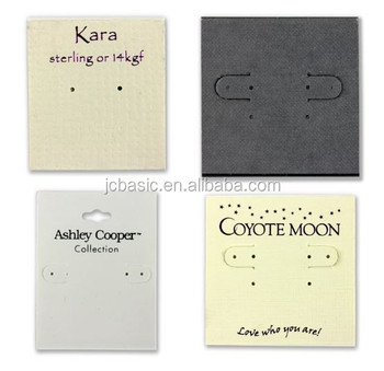 Custom Personalized Printed Stamping Jewelry Earring Cards Product On Alibaba