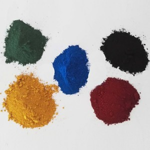 Manufacturer Supply Color Synthetic Red Pigment Iron Oxide Fe2O3 Decorative Coating