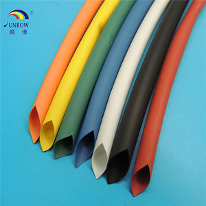 Single wall shrinkable sleeves/heat shrinkable cable joint