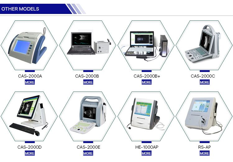 CAS-2000B+ china top quality china ophthalmic ab scan