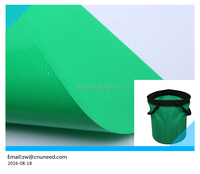 Professional pvc coated waterproof bags fabric /Polyester bag fabric