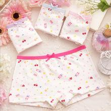 Summer new female children s cartoon baby bear cotton underwear girls underwear boxer briefs kids panties