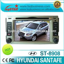 LSQ Star Cheap DIN ALL IN ONE IN DASH CAR DVD PLAYER FOR HYUNDAI SANTAFE MODEL NO.XDB 2630