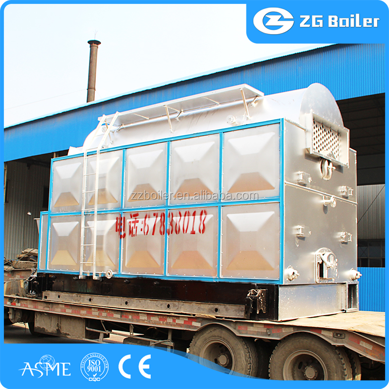 Trustworthy manufacturer sunflower husk steam boiler