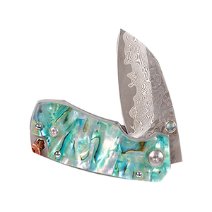 Abalone Shell Handle Knife, Abalone Shell Handle Knife