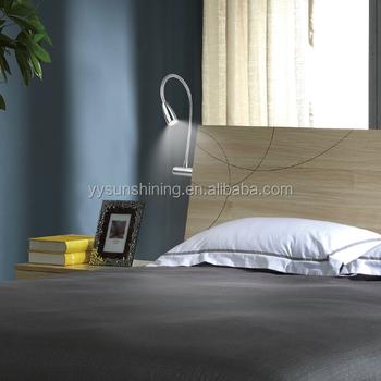 Led Flexible Arm Bedside Reading Lamp Bed Head Light