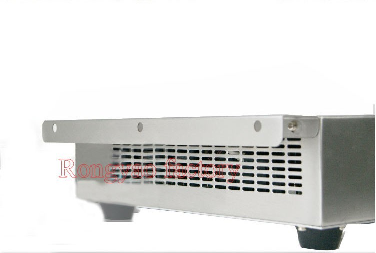 RY-UG35P-X Stainless Steel Single Head 3.5KW Push Button Operation Electromagnetic Furnace Commercial Plane Electromagnetic Oven