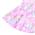 Newest Style Pink Baby Girls Garment Lovely Bear Pattern Kids Boutique Dresses Adorable Twirling Frocks For Toddlers
