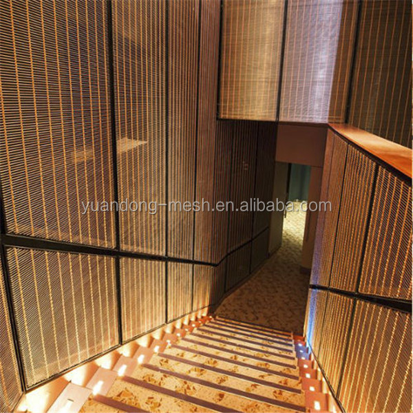 316 Stainless Steel Mesh Curtains / Ss Decorative Metal Screen
