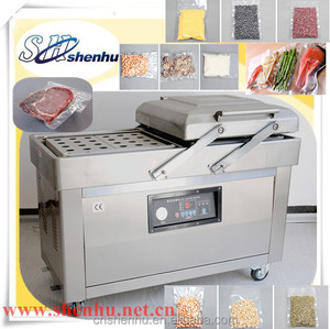 Shenhu stianless steel vegetables fruit meat food rice vaccum packing machine