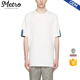 2016 Stylish Men's Plain White Round Neck Bamboo T-Shirts