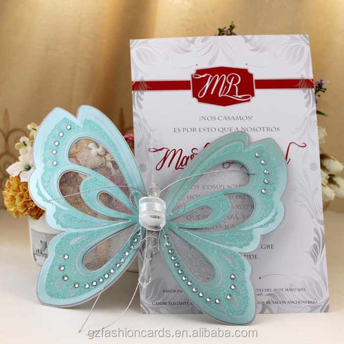 2014 Royal Scroll Butterfly Invitations Buy Butterfly – Wedding Butterfly Invitations