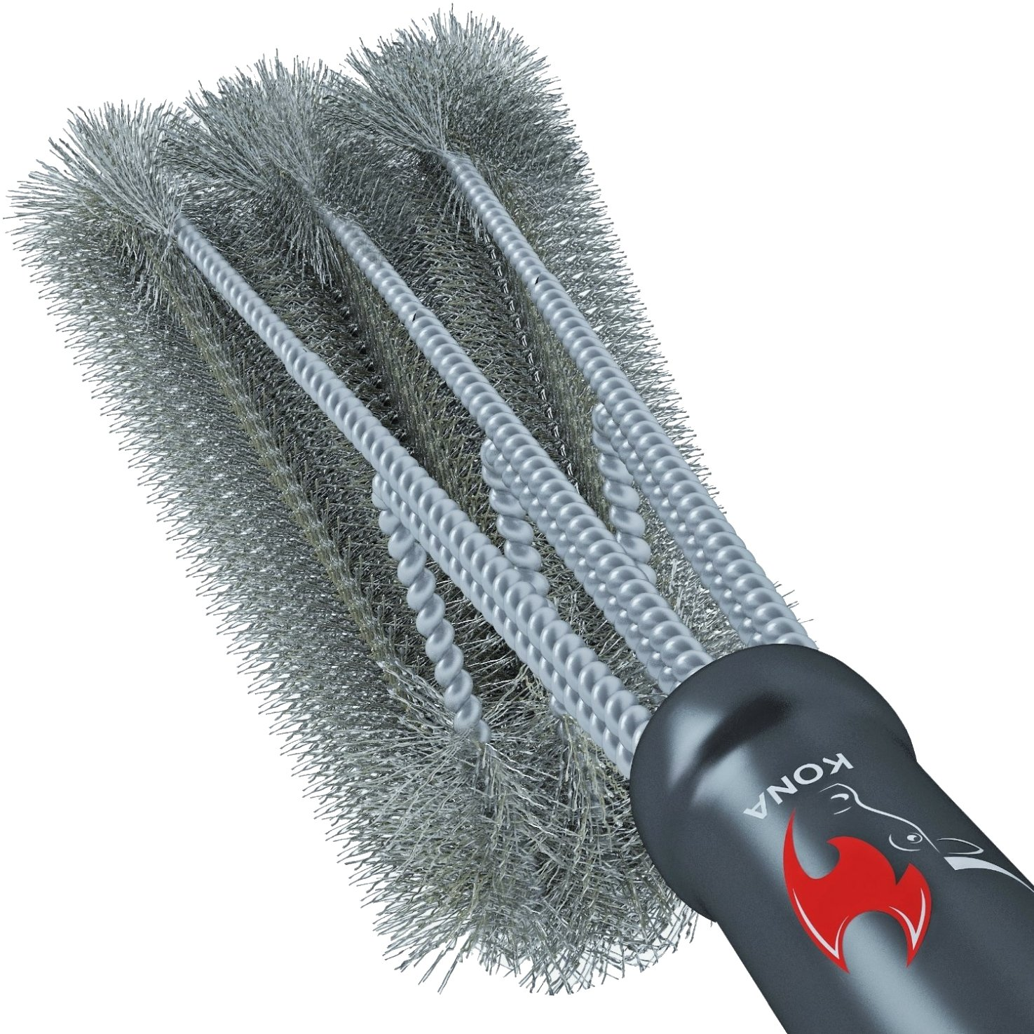 Get Quotations Kona 360 Clean Grill Brush 18 Best Bbq Stainless Steel