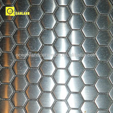 stainless steel penny round merola mosaic tile foshan