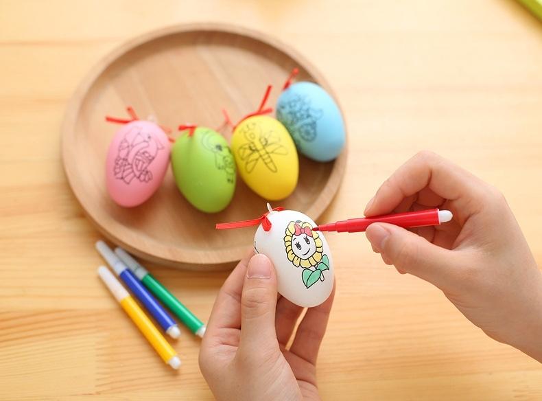 Boyama Plastik Oyuncak Tavuk Yumurta Cocuklar Cizim Oyuncak