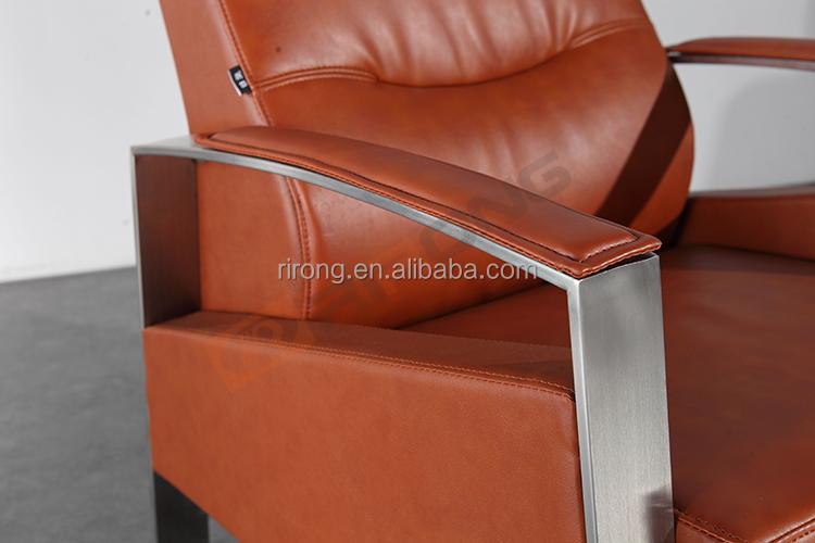 Moderne luxus büro  Moderne luxus metallrahmen armlehne design edelstahl italien ...