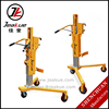 350kg Right Supporting Leg Hydraulic Lifting Oil Drum Lifter for cheap sale