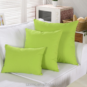 Unique design lime green armchair pillows fo sofa , lime green pillow covers 18''x18''