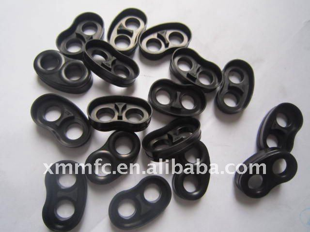 Black rubber customized parts with high quality approved NSF61,WRAS,KTW,W270,FDA,ACS,UL