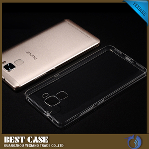 ultra thin tpu back cover soft clean case for huawei honor 7