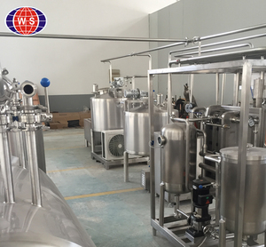 UHT small dairy milk processing machines for making long life milk