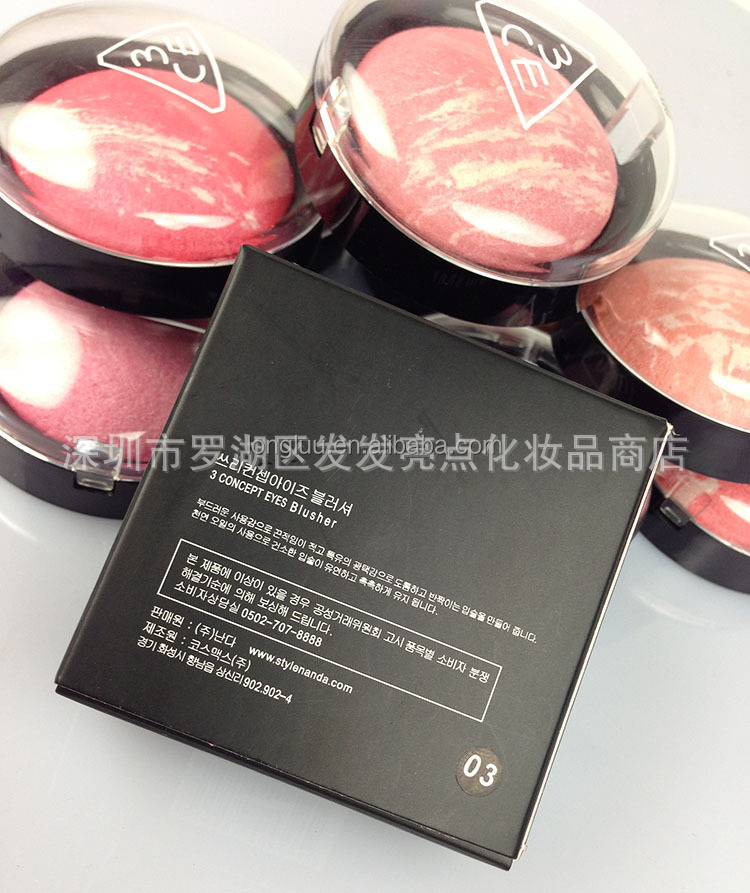 Corea 3ce crema Blush rouge sobrenatural multicolor