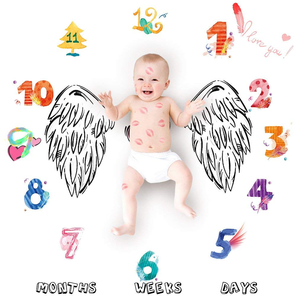 Get Quotations · Newborn Infant Photo Prop Shoots Backdrop Kids Swaddling Wrap Baby Shower Gift with Month Numbers for  sc 1 st  Shopping Guide - Alibaba & Cheap Baby Gift Ideas For Mom find Baby Gift Ideas For Mom deals on ...