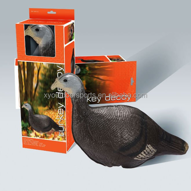 SUPPLY FOLDABLE TURKEY HUNTING DECOYS, MALE AND FEMALE TURKEY DECOYS ,XPE FOAM MATERIAL TURKEY, CHINA TURKEY HUNTING DECOYS