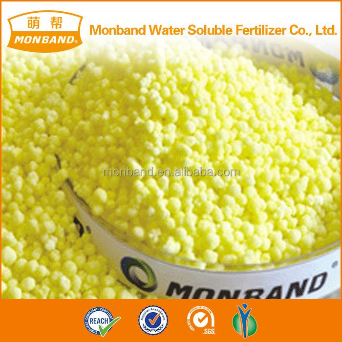 Yellow Color Calcium Ammonium Nitrate Fertilizer