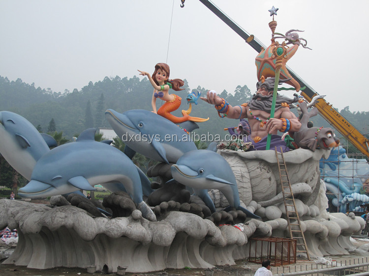 Outdoor customized water theme park playground design decoration construction