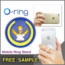 Multi-Function Smartphone Accessories Customized Logo Printing Cellphone Holder for Selfie Ring