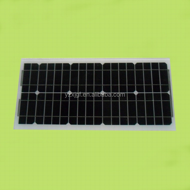 Small family lighting system,polycrystalline silicon panels for 15 -20w with CE&TUV,