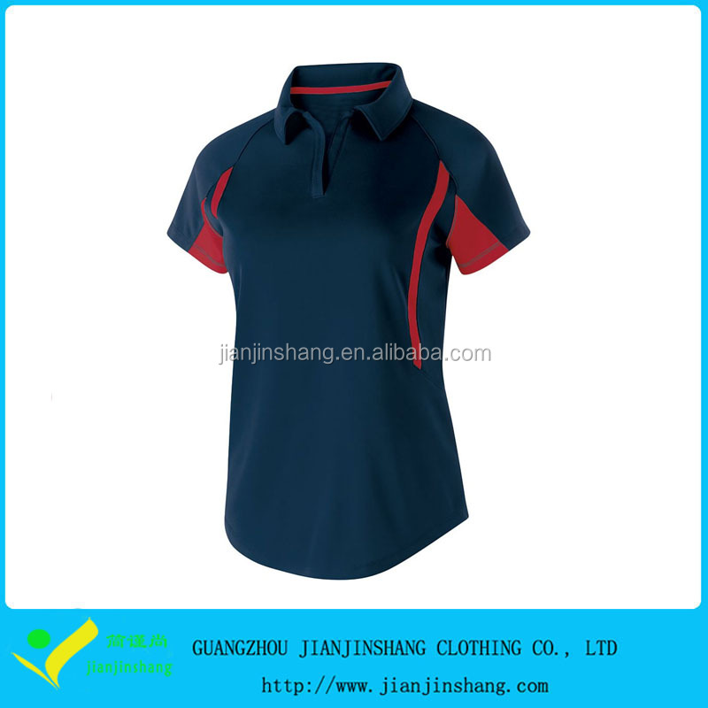 Fashion High Quality Plain Design Cheapest Short Sleeve Uniform Golf Shirt
