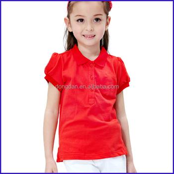 6686525f02009b bulk wholesale cotton kids t shirt high quality 100% cotton Girls Blank T  Shirts design