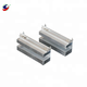 aluminum hot and cold side heat sink for thermal electric generator
