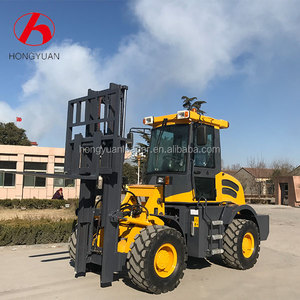 Qingzhou rough terrain forklift rough terrain vehicle