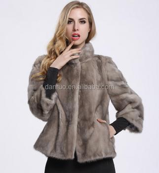 2c722f2bf 2017 hot-selling European-style Slim really sable fur jacket women's collar mink  coat