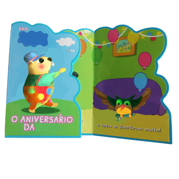 Lovely Mouse Shaped Eva Foam Book With The Best Price China Printing  Service Full Colour Attractive Wholesale Child Scripts - Buy Kindergarten  Plays