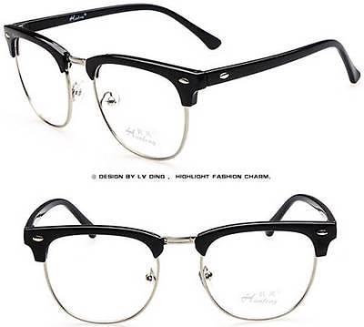 vintage semi rimless eyeglasses tapdance With Plastic Lens Ray-Ban Sunglasses vintage semi rimless eyeglasses