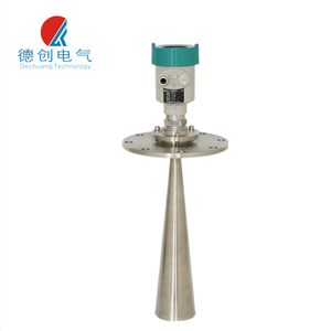 Solid iron ore or coal radar level meter,Coal Bunker Radar Level Meter Explosion-proof Grade Cable Water level sensor cement
